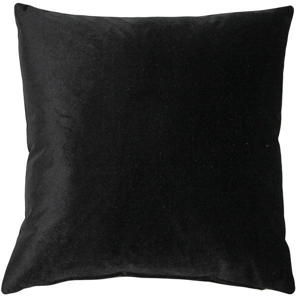 Pillow Decor - Corona Black Velvet Pillow 19x19