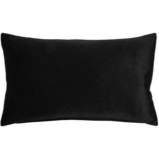 Pillow Décor - Corona Black Velvet Pillow 12x20