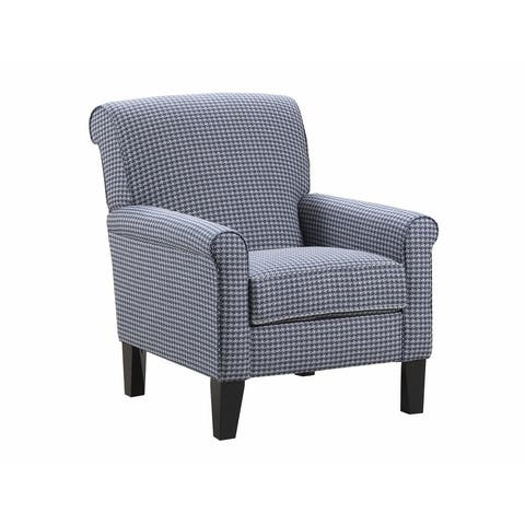 Simmons Upholstery Hawthorne Cobalt Accent Chair
