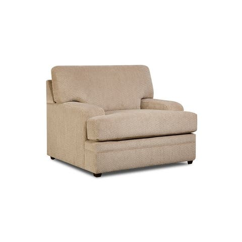 Simmons Upholstery Bellamy Putty Chair