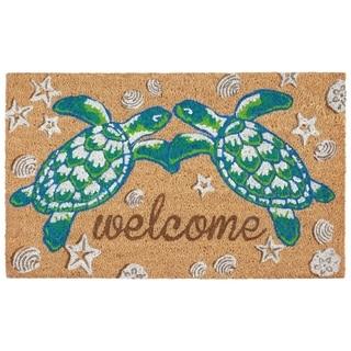 """Liora Manne Greeting Coir Welcome Door Mat (1'6"""" x 2'6"""")"""