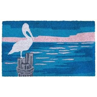 """Water Bird Coir Door Mat (1'6"""" x 2'6"""")"""