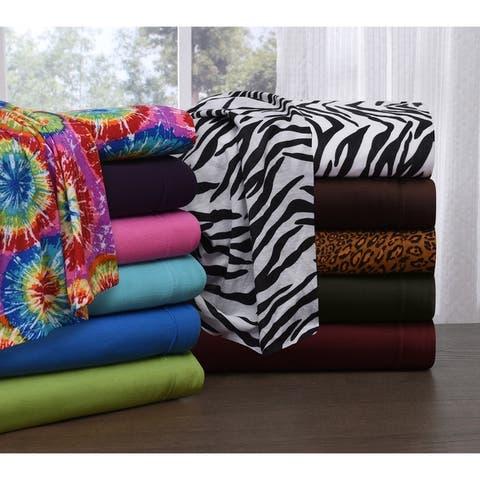 Knit Jersey Full Size Sheet Set