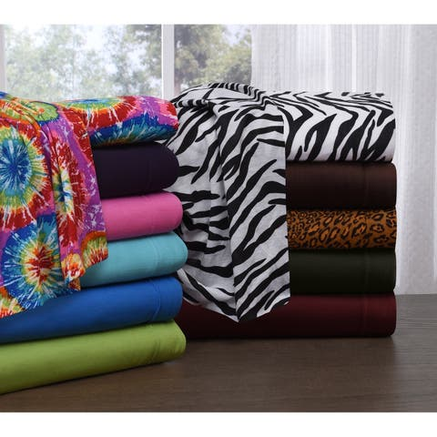 Knit Jersey King Size Jersey Sheet Set