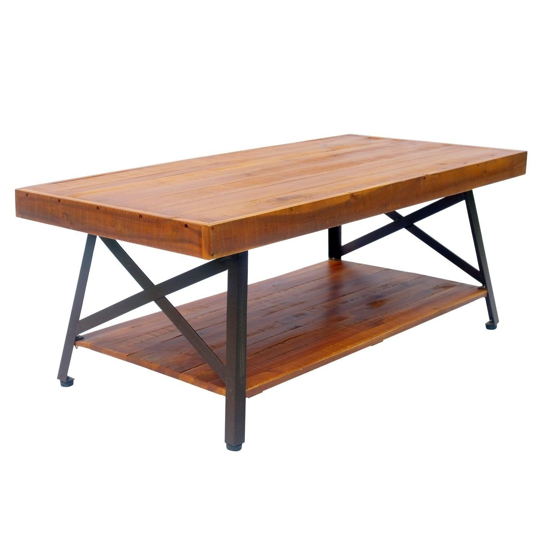 Picture of: Patio Garden Tables Acacia Wood Outdoor Side End Table Patio Garden Furniture Porch W Storage Shelf Home Garden