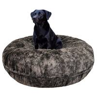 Bessie and Barnie Signature Koala Luxury Extra Plush Faux Fur Bagel Pet / Dog Bed