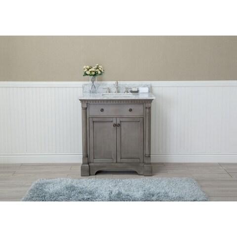 """Stella 31"""" Bathroom Vanity Antique Grey"""