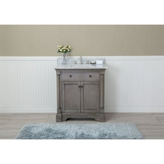 "Stella 31"" Bathroom Vanity Antique Grey"