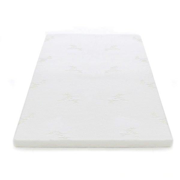 Shop Milliard 2 Inch Gel Memory Foam Mattress Topper With