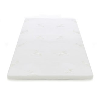 Milliard 2-inch Gel Memory Foam Mattress Topper with Cover