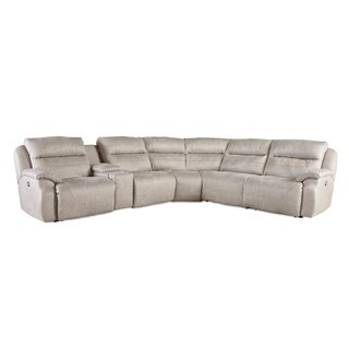 Southern Motion Five Star Beige Power Reclining Sectional Sofa