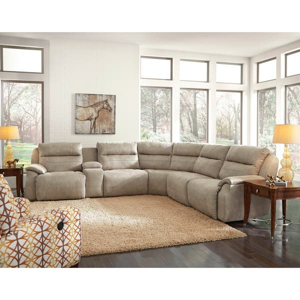 Southern Motion\'s Five Star Power Reclining Sectional Sofa