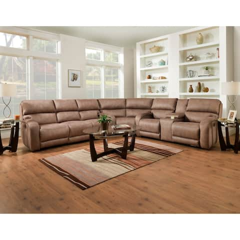 Buy Beige Microfiber Sectional Sofas Online At Overstock
