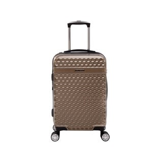 Kathy Ireland Audrey Tan 22-inch Carry On Hardside Spinner Suitcase