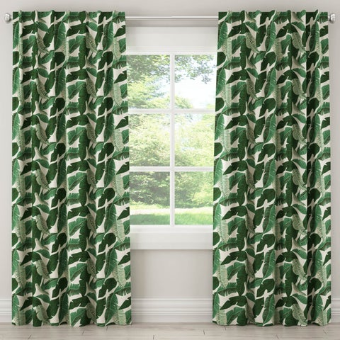 Skyline Furniture Blackout Curtain in Banana Palm Natural