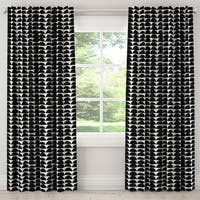 Skyline Furniture Blackout Curtain in Halfmoon