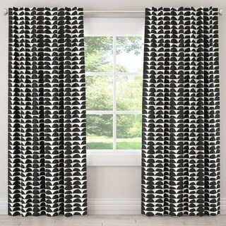 Skyline Furniture Unlined Curtain in Halfmoon
