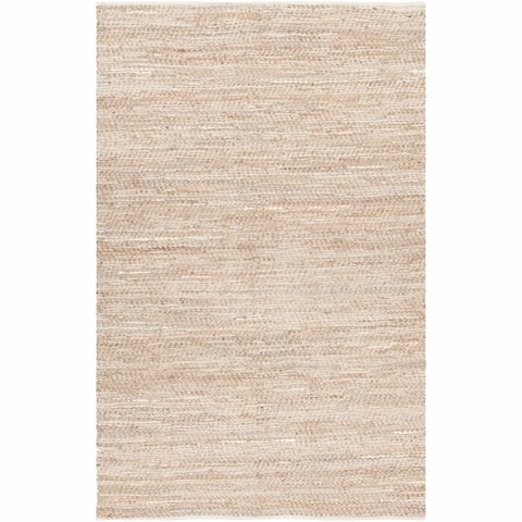 Artist's Loom Darla Collection Hand-Woven Abstract Pattern Casual Rug