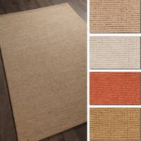Artist's Loom Aleah Collection Hand-Woven Solid Pattern Casual Rug
