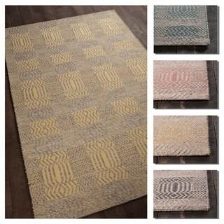 Artist's Loom Blaze Collection Hand-Woven Contemporary Rug