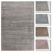 Artist's Loom Carla Collection Hand-Woven Contemporary Rug - 9' x 13'