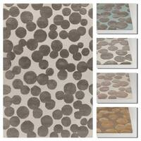 Artist's Loom Carina Collection Hand-Tufted Geometric Pattern Rug - 9' x 13'