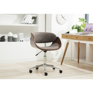 Porthos Home Luxury Quality Bentwood Style Office Chairs with Wheels
