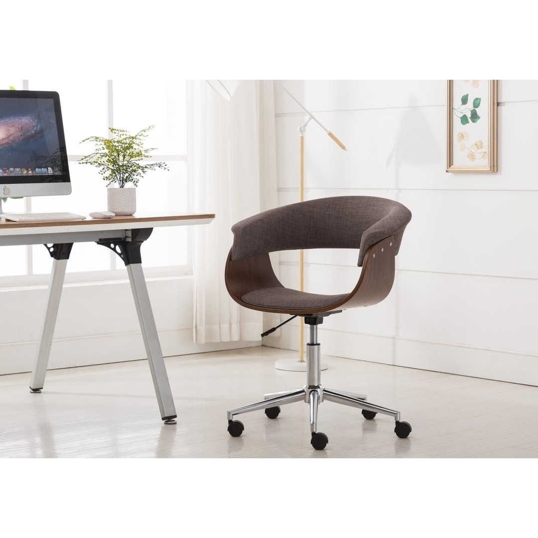 Porthos Home Luxury Bentwood Style Quality Office Chairs With Wheels Overstock 22358612