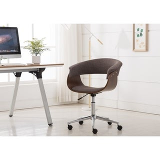 Porthos Home Luxury Bentwood Style Quality Office Chairs with Wheels