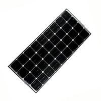 ALEKO Solar Panel Monocrystalline 140W Output Voltage 12 V