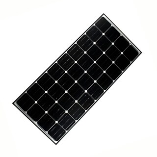 ALEKO Solar Panel Monocrystalline 140W Output Voltage 12 V