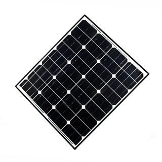 ALEKO Solar Panel Monocrystalline 85W Output Voltage 12V