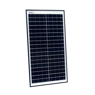 ALEKO Monocrystalline Modules Solar Panel 30W 12V
