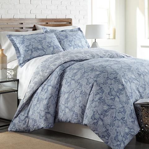 Perfect Paisley Down Alt 3-Pc Reversible Comforter Set