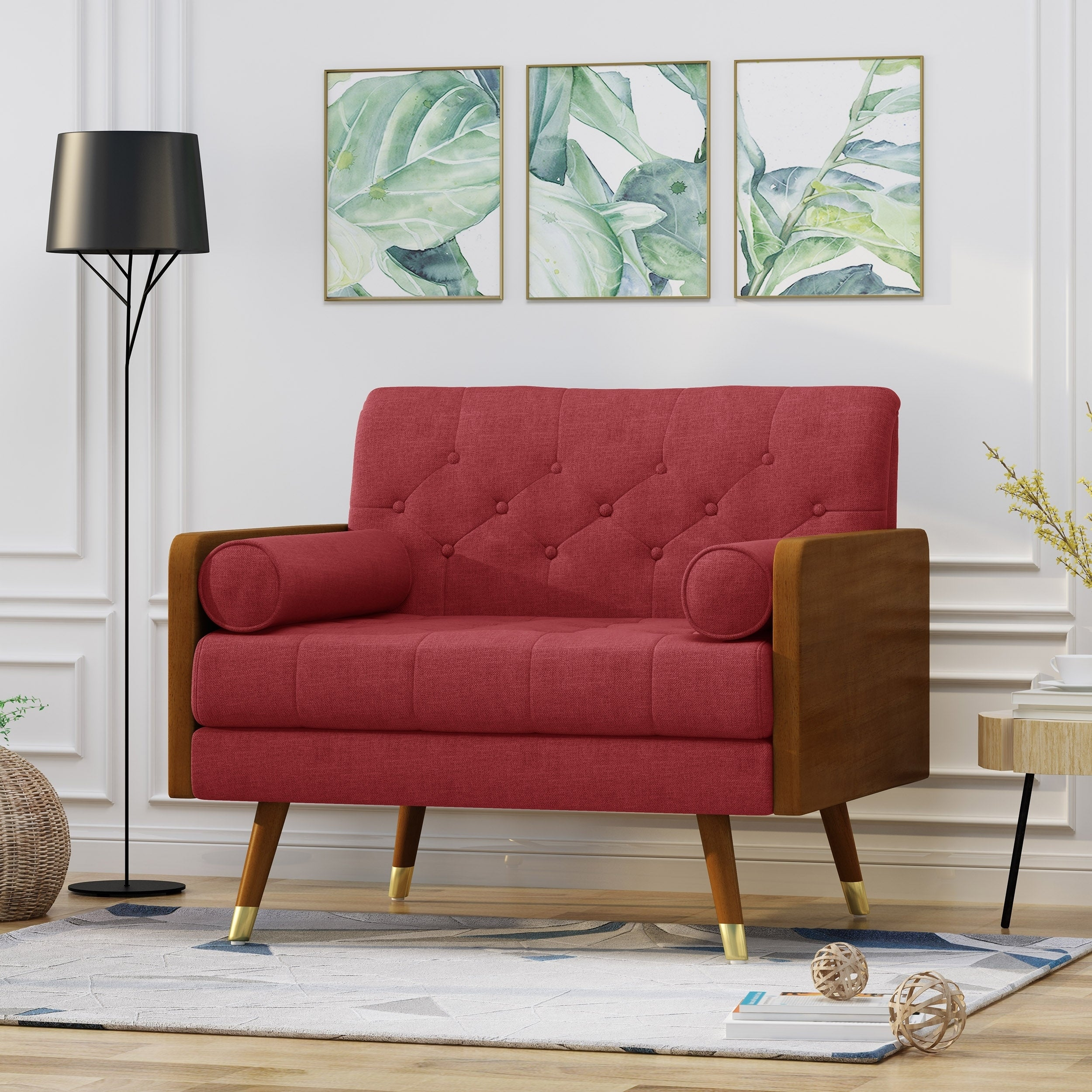 Red Living Room Chairs Online At Our Best Furniture Deals