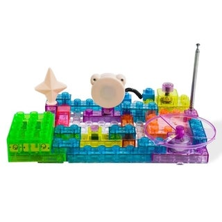 Dimple DC13994 Lectrixs Electronic Building Blocks (120 Projects) Light up DIY Stacking Toys 44 Piece Set