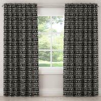 Skyline Furniture Blackout Curtain in Mali Cloth