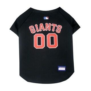 Pets First MLB San Francisco Giants Sports Team Logo Dog Jersey - Medium