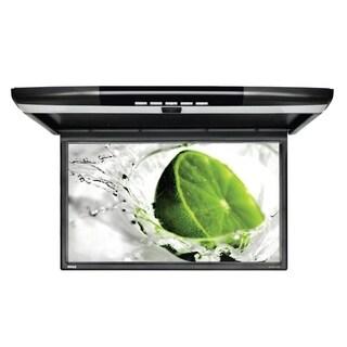 "Pyle PLRV1725 Vehicle Flip-Down Display Screen Roof Mount Monitor with HDMI/USB/Micro SD/IR/FM Transmitter 17.3"" Black"