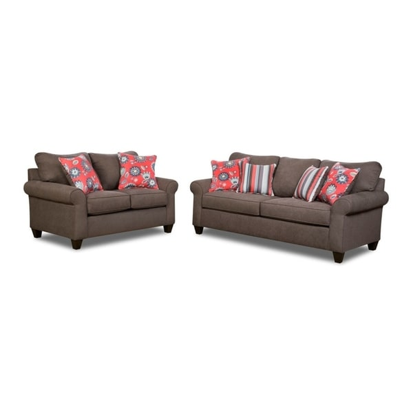 Shop Simmons Upholstery Beachfront Cement Sofa And