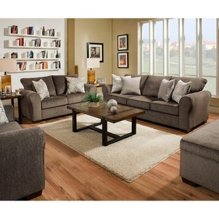 Link to Simmons Upholstery Harlow Ash Sofa and Loveseat Set Similar Items in Living Room Furniture Sets