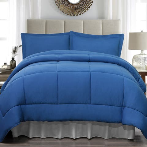 Soft Touch King Jersey 4 Piece Comforter Set