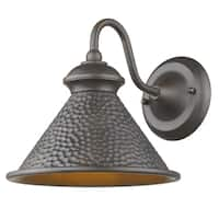 Sirét Pickwick 1-Light Oil Rubbed Bronze Medium Dark Sky Outdoor Sconce.