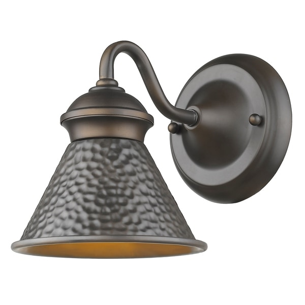 Pickwick 1-Light Oil Rubbed Bronze Small Dark Sky Outdoor Sconce