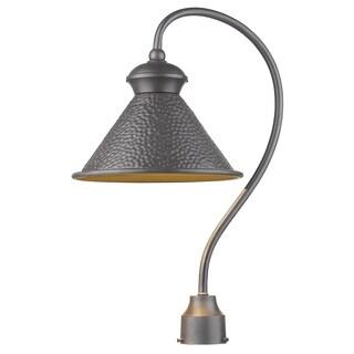 Sirét Pickwick 1-Light Rust Dark Sky Outdoor Post Lamp.