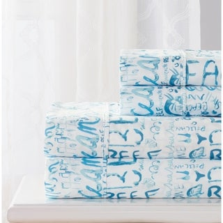 RT Designers Collection Beach Printed Sheet Set