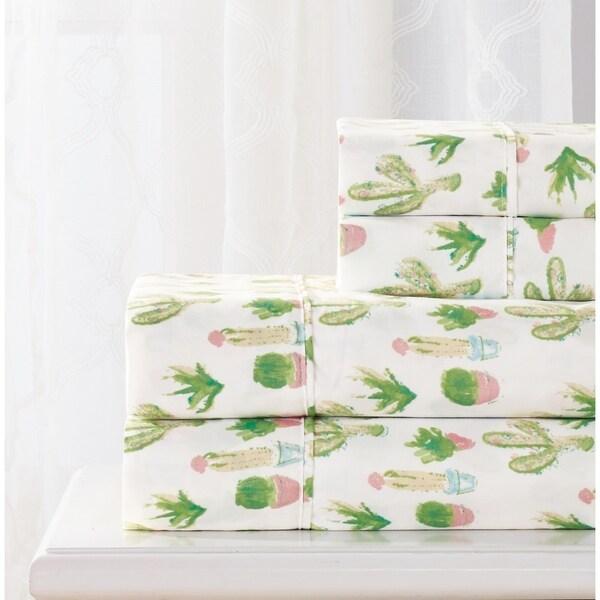 Shop Rt Designers Collection Cactus Printed Sheet Set
