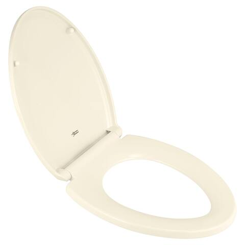 American Standard Elongated Luxury Toilet Seat 5020A65G.222 Linen - Off White