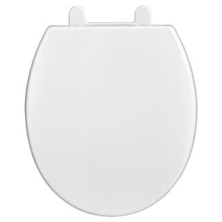 Shop American Standard Plastic Round Toilet Seat 5259b 65c