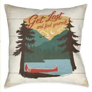 Laural Home Country Lake III Outdoor Throw Pillow